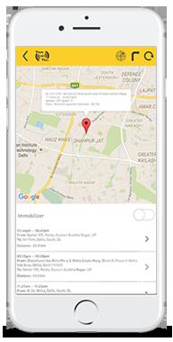 GPS vehicle tracker App